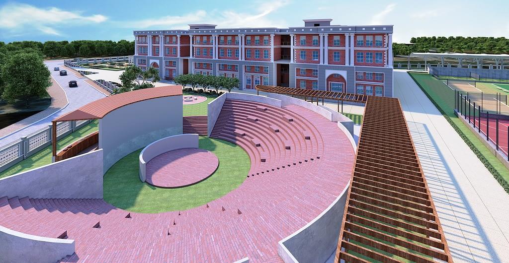 Marigold International School   Amphitheatre with 700 seating capacity